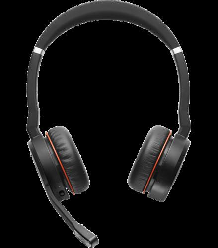 Jabra Evolve 75 Ms Stereo: Jabra Evolve 75 MS Wireless Bluetooth Headset With