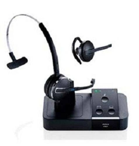 05e00fad07a Jabra PRO 9450 Wireless Mono Headset with Noise Canceling Flex Boom