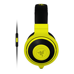Razer Kraken Analog Music and Gaming Headset- Neon Yellow