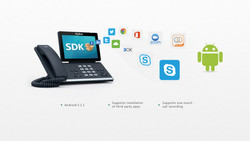 Yealink Skype for Business T56A, Smart Media Andriod HD